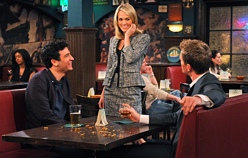 Neil Patrick Harris, Josh Radnor, and Carrie Underwood in How I Met Your Mother (2005)