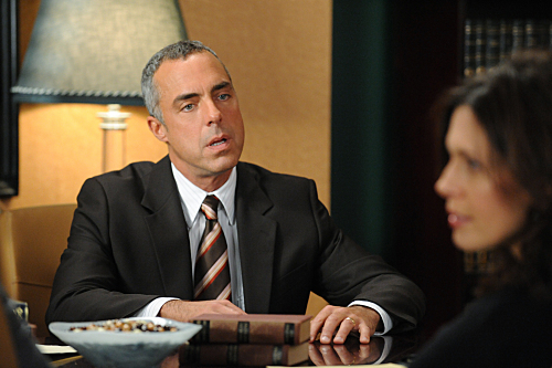 Jessica Hecht and Titus Welliver in The Good Wife (2009)