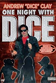 Andrew Dice Clay: One Night with Dice (1987) Poster - Movie Forum, Cast, Reviews