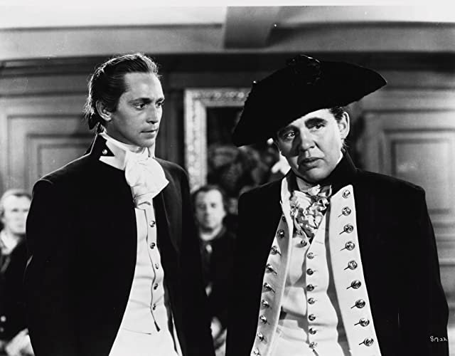 Charles Laughton and Franchot Tone in Mutiny on the Bounty (1935)