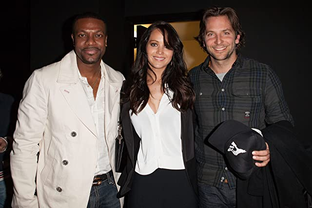 Chris Tucker, Bradley Cooper, and Jennifer Lawrence at Silver Linings Playbook (2012)