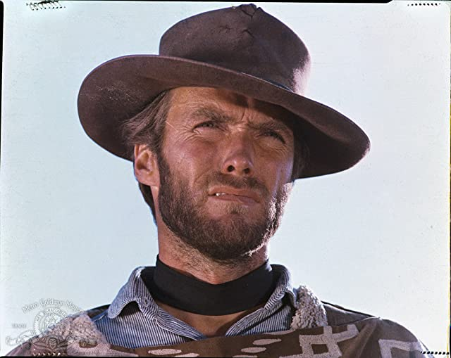 Clint Eastwood in The Good, the Bad and the Ugly (1966)