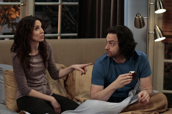 Chris D'Elia and Whitney Cummings in Whitney (2011)