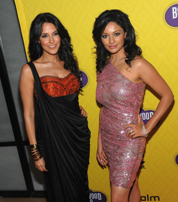 Pooja Kumar and Neha Dhupia at Bollywood Hero (2009)