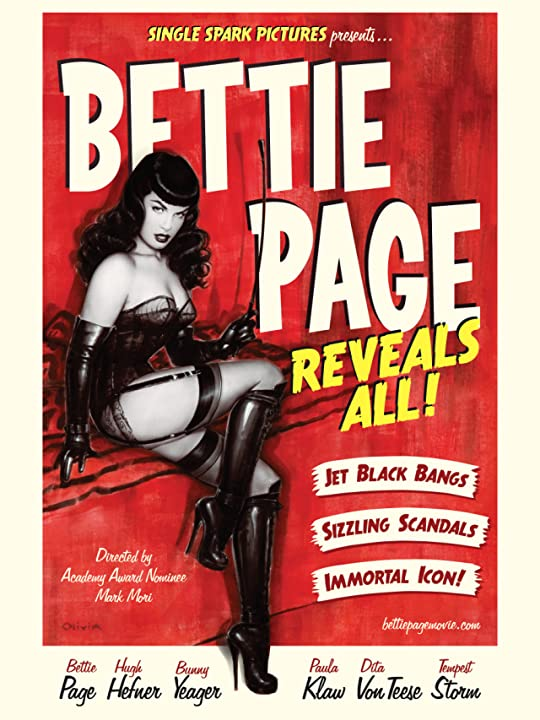 Bettie Page in Bettie Page Reveals All (2012)