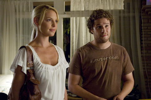 Katherine Heigl and Seth Rogen in Knocked Up (2007)