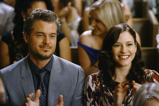 Eric Dane and Chyler Leigh in Grey's Anatomy (2005)
