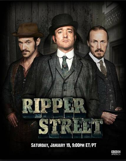 Image result for ripper street poster