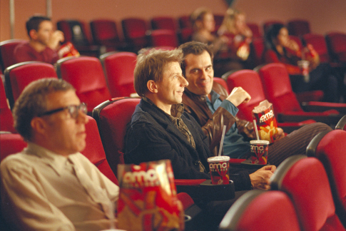 Ty Burrell and Simon McBurney in Friends with Money (2006)