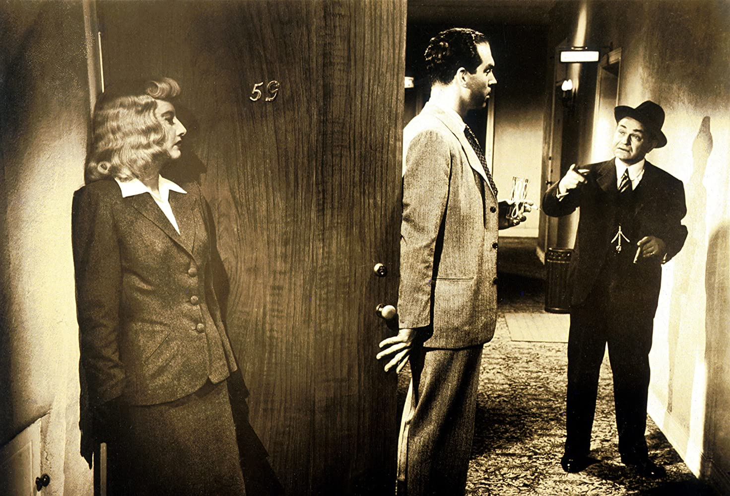 Image result for edward g robinson and fred macmurray in double indemnity