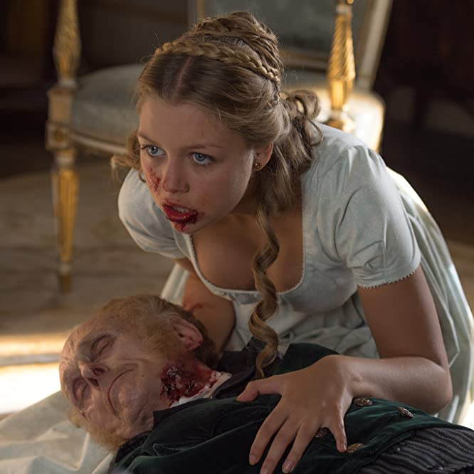 Jess Radomska in Pride and Prejudice and Zombies (2016)