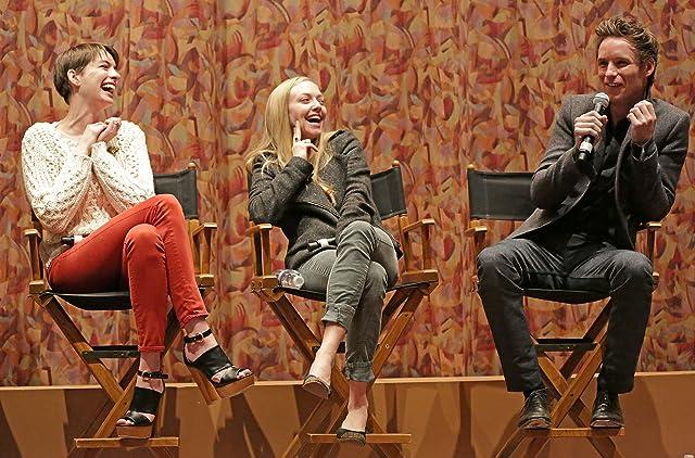 Anne Hathaway, Amanda Seyfried, and Eddie Redmayne at Les Misérables (2012)