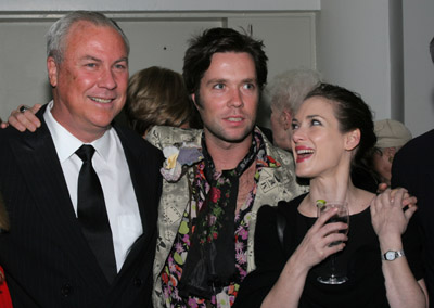 Winona Ryder, Rufus Wainwright, and Robert Wilson at an event for Absolute Wilson (2006)