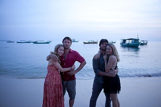 Joel Edgerton, Felicity Price, Antony Starr, and Teresa Palmer in Wish You Were Here (2012)