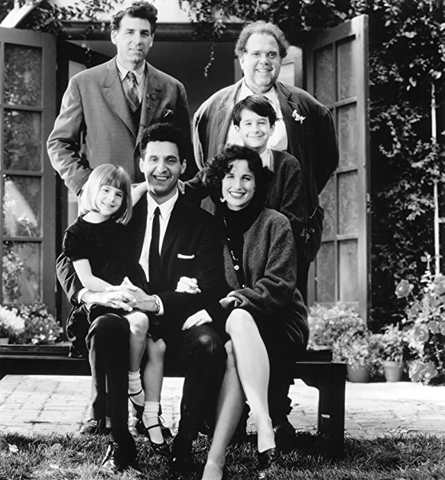 Andie MacDowell, John Turturro, Maury Chaykin, Kendra Krull, Michael Richards, and Nathan Watt in Unstrung Heroes (1995)
