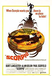 Scorpio (1973) Poster - Movie Forum, Cast, Reviews
