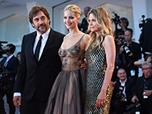 Michelle Pfeiffer, Javier Bardem, and Jennifer Lawrence at an event for Mother (2017)