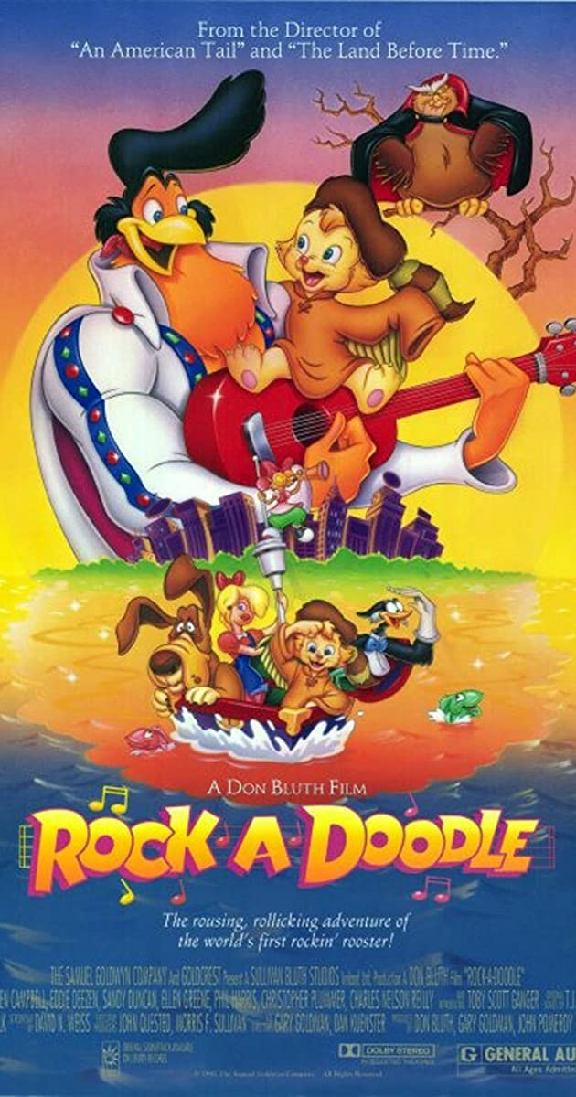 Rock a doodle 1991 imdb for What was the name of that movie