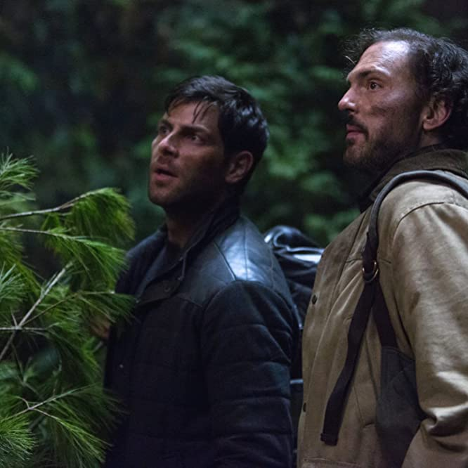 Silas Weir Mitchell and David Giuntoli in Grimm (2011)