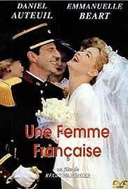 Une femme française Poster