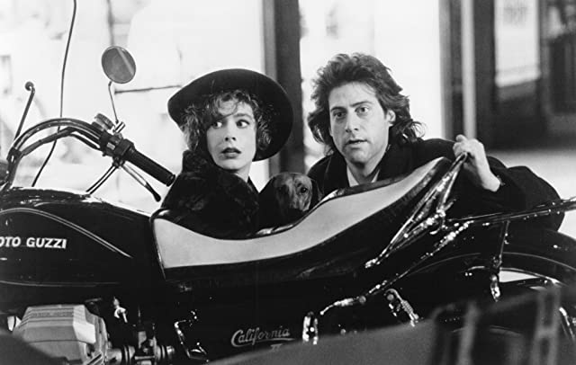 Sean Young and Richard Lewis in Once Upon a Crime... (1992)