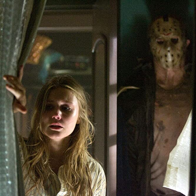 Derek Mears and Julianna Guill in Friday the 13th (2009)