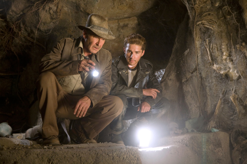 Harrison Ford and Shia LaBeouf in Indiana Jones and the Kingdom of the Crystal Skull (2008)