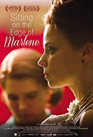Sitting on the Edge of Marlene Poster