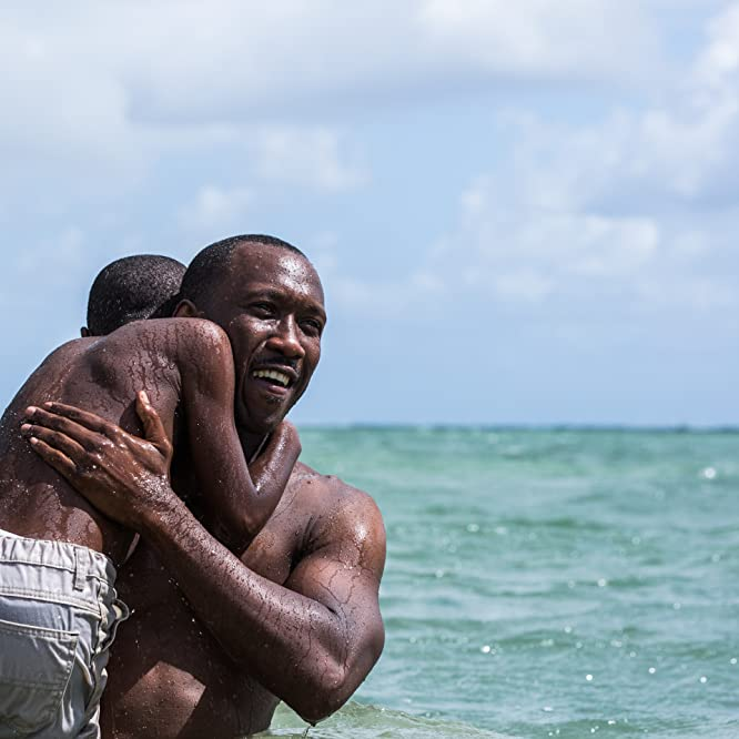 Mahershala Ali and Alex R. Hibbert in Moonlight