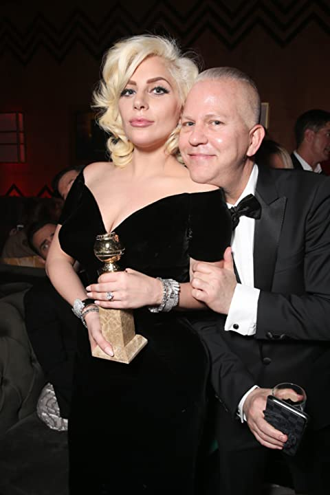 Ryan Murphy and Lady Gaga at an event for 73rd Golden Globe Awards (2016)