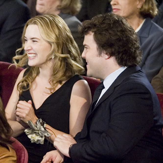 Kate Winslet and Jack Black in The Holiday (2006)