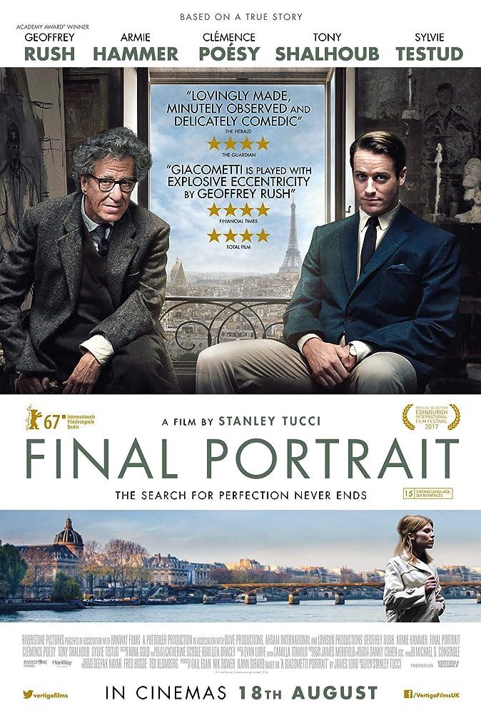 Final Portrait Movie Poster