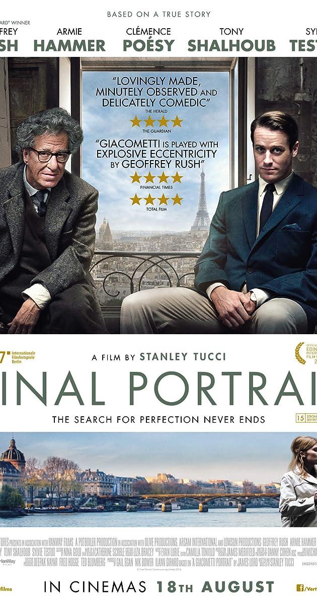 Paskutinis portretas / Final Portrait (2017)