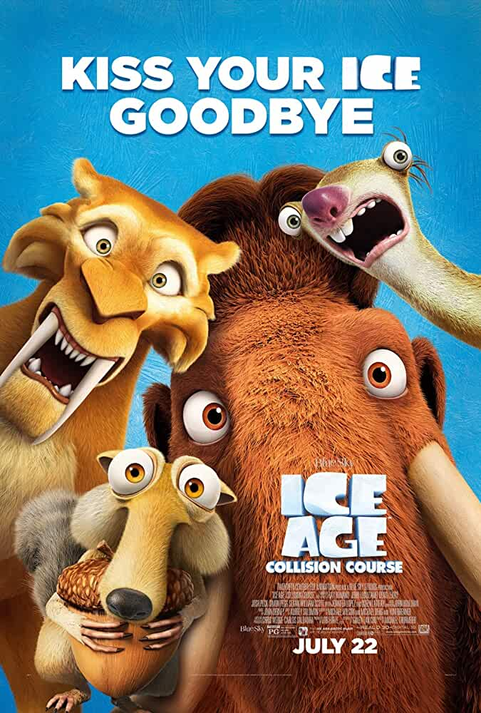 Ice Age Collision Course 2016 Hindi Dual Audio 720p BRRip full movie watch online freee download at movies365.org