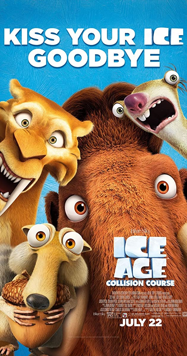 Ice Age: Collision Course (English) 3 3gp movie download