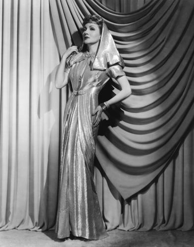 Claudette Colbert circa 1935
