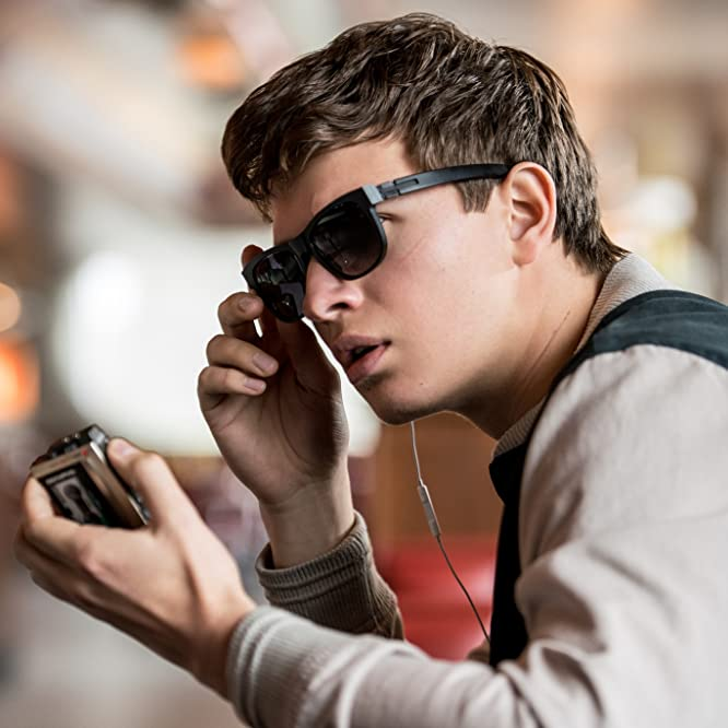 Ansel Elgort in Baby Driver (2017)