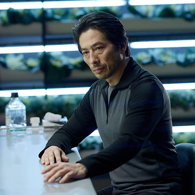Hiroyuki Sanada in Helix (2014)
