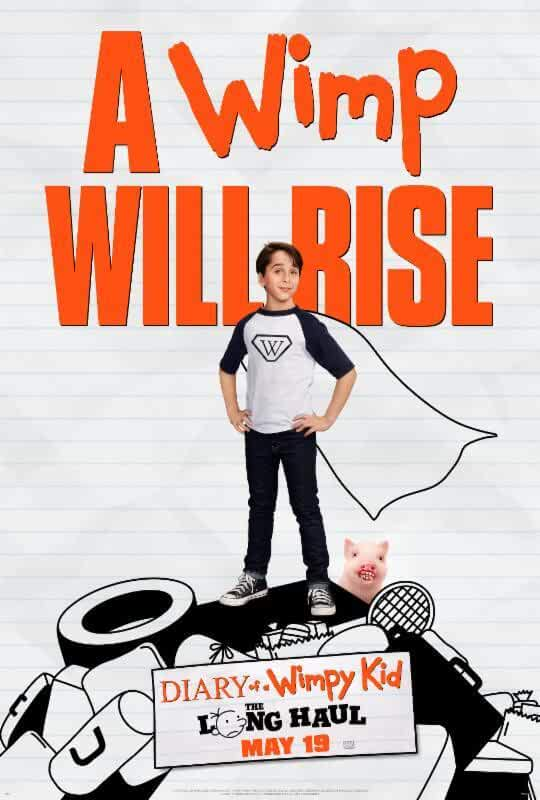 Poster Diary of a Wimpy Kid: The Long Haul 2017 Download Dual Audio Hindi 720p Free