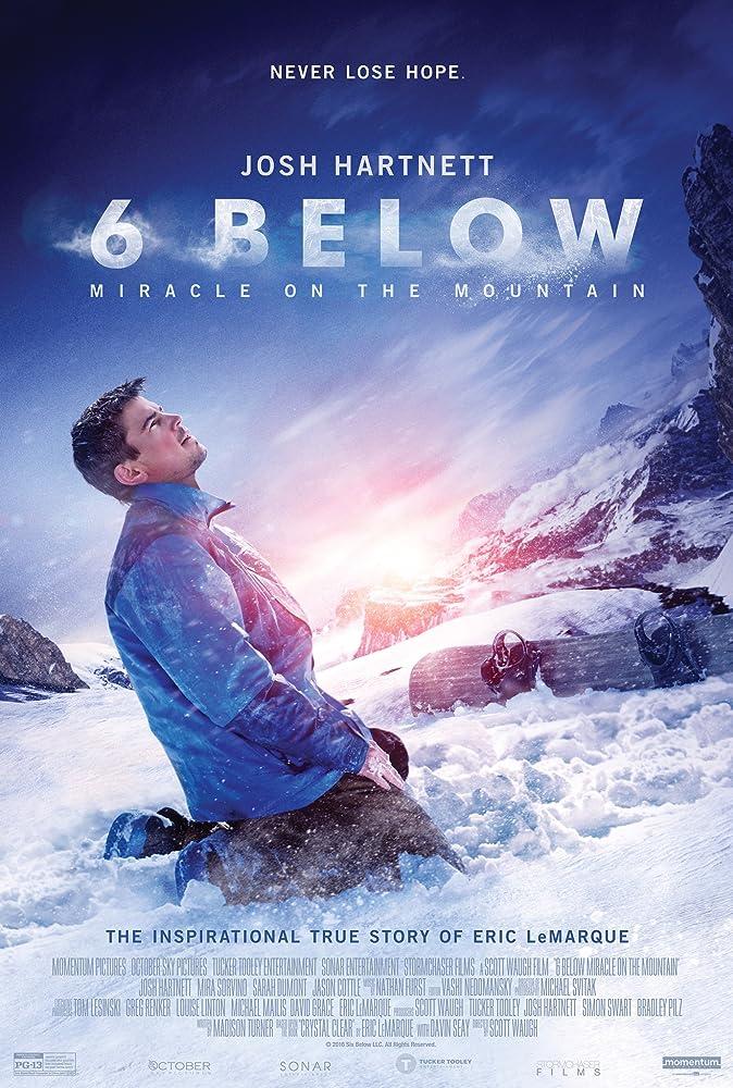 دانلود زیرنویس فارسی فیلم 6 Below: Miracle on the Mountain 2017