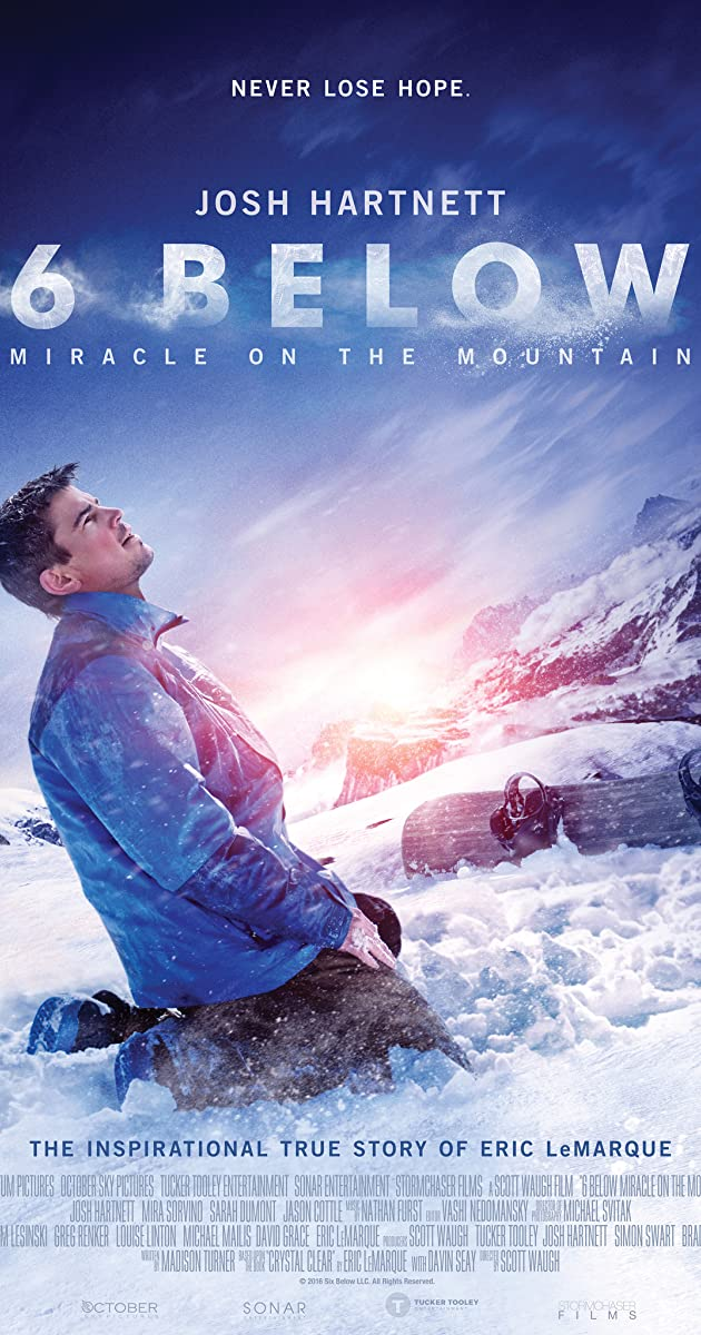 「6 Below: Miracle on the Mountain」的圖片搜尋結果