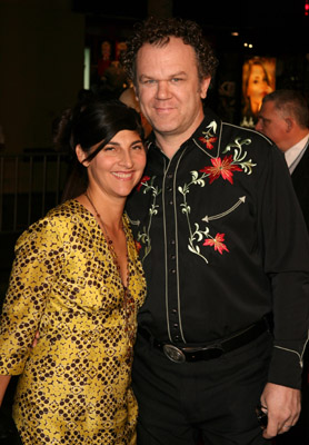 John C. Reilly and Alison Dickey at an event for Borat: Cultural Learnings of America for Make Benefit Glorious Nation of Kazakhstan (2006)