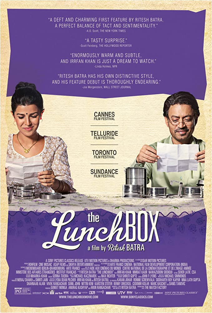 The Lunchbox cartel de la película