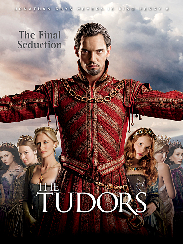 Joely Richardson, Jonathan Rhys Meyers, Maria Doyle Kennedy, Joss Stone, Tamzin Merchant, Natalie Dormer, and Annabelle Wallis in The Tudors (2007)