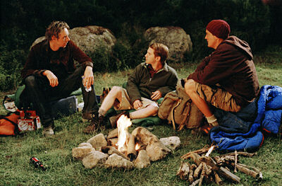 Matthew Lillard, Seth Green, and Dax Shepard in Without a Paddle (2004)