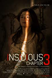 Insidious: Chapter 3 (2015) Poster - Movie Forum, Cast, Reviews