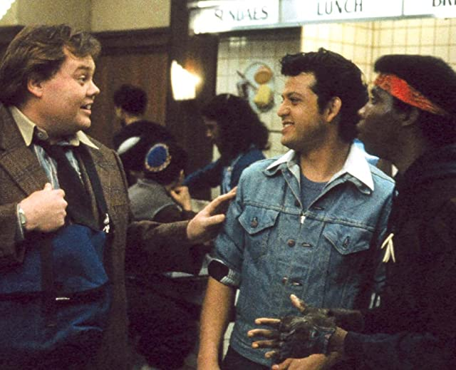 Louie Anderson and Paul Rodriguez in Quicksilver (1986)