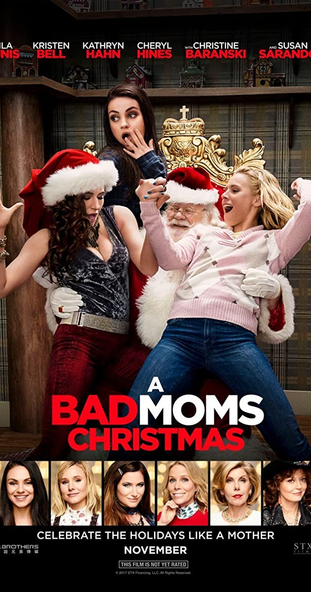 Image result for a bad moms christmas movie poster