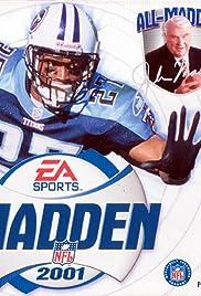 Madden NFL 2001 Poster