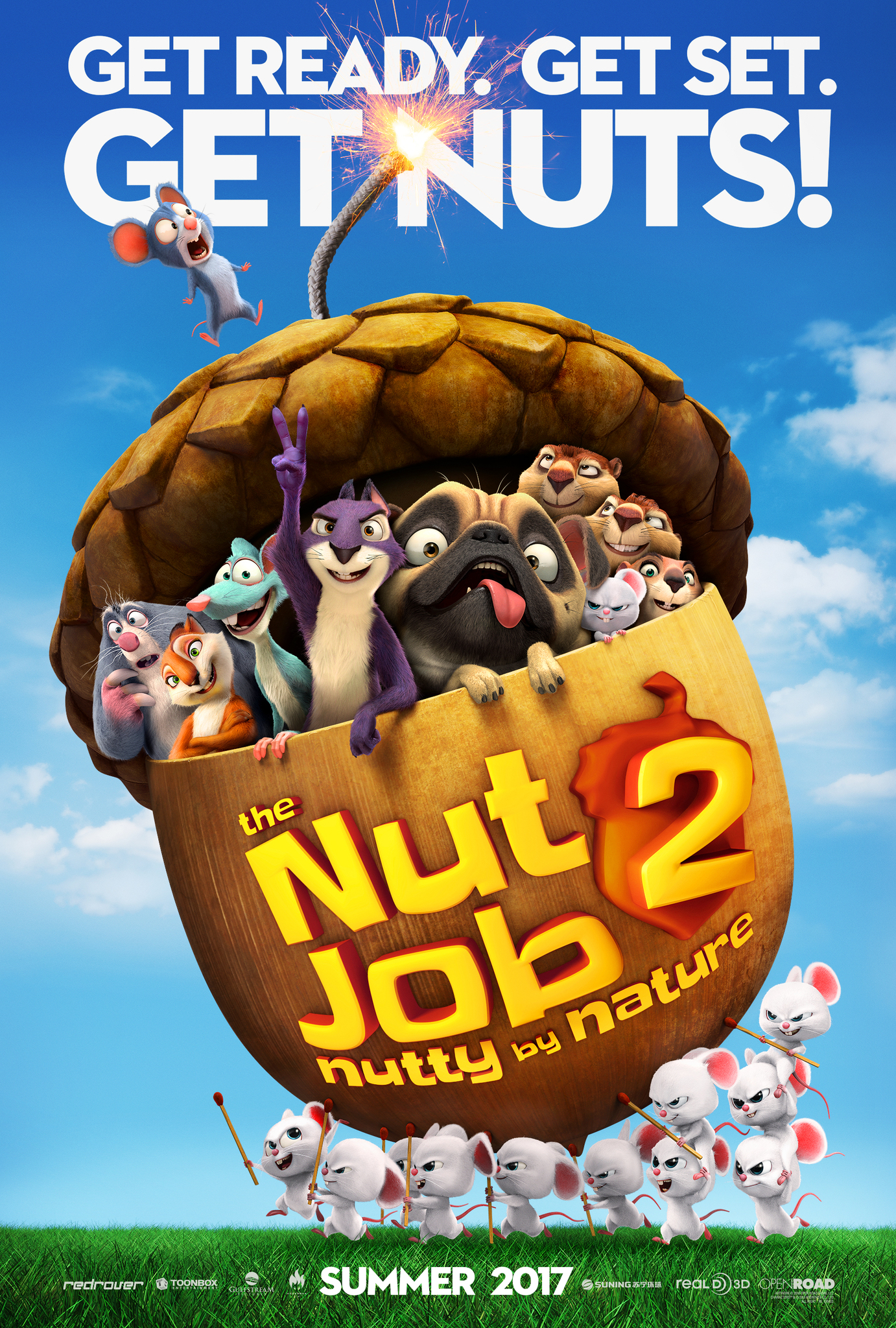 The Nut Job 2: Nutty by Nature (2017) - Cartelera